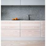 Варианты отделки, дизайн стен кухни: фото идеи