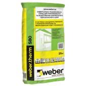 Клей для теплоизоляции weber.therm S80