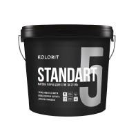 Краска Kolorit Standart 5 база А 9 л