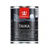 Лазурь Tikkurila Тайка HL (серебро) 0,9 л перламутровая