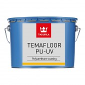 Покрытие полов TIKKURILA ТЕМАФЛОР PU-UV TVT 0229 10 л