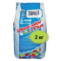 Затирка для швов Mapei Ultracolor Plus 100 белая 2 кг