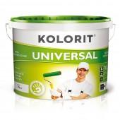 Краска Kolorit UNIVERSAL белая 10 л