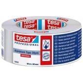 Аллюминиевая лента серебристая TESA 50 м х 50 мм
